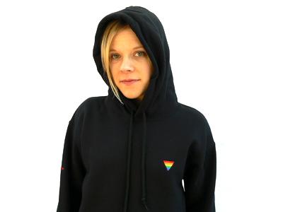 Rainbow Triangle Hoodie