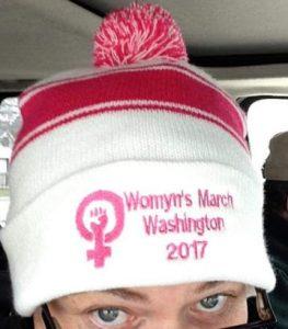 Womyns march hat2